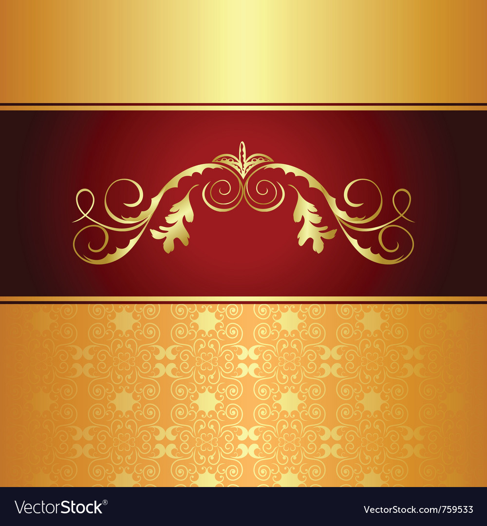 Luxury background for design card - vector | Price: 1 Credit (USD $1)