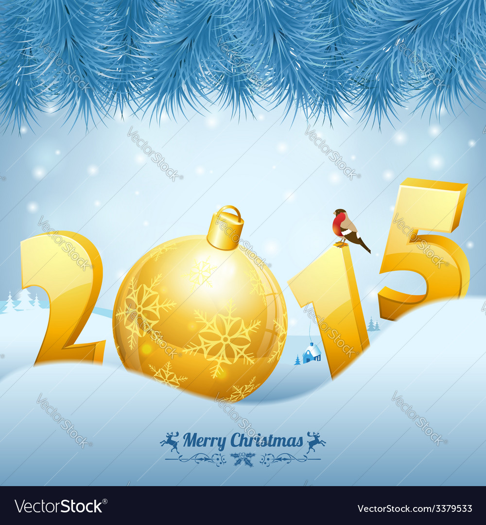 New year background vector | Price: 3 Credit (USD $3)