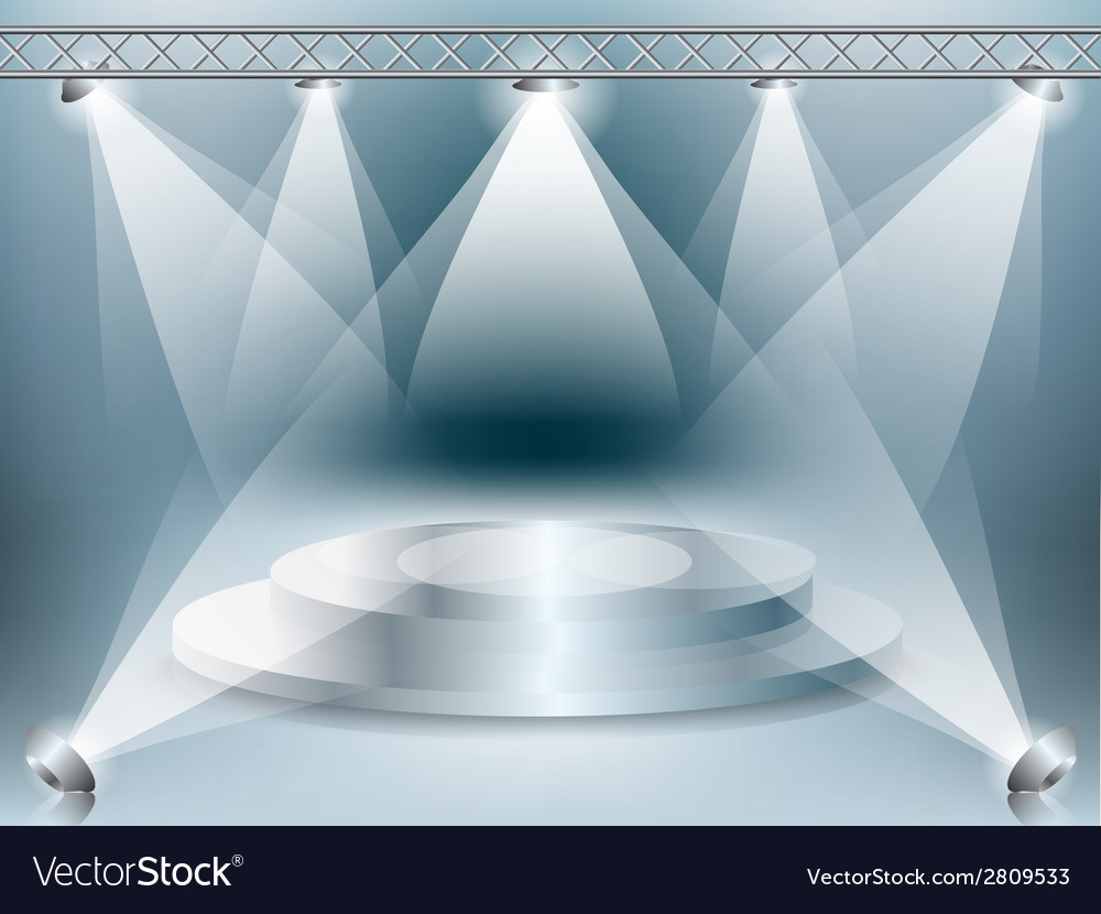 Stage background33 vector | Price: 1 Credit (USD $1)