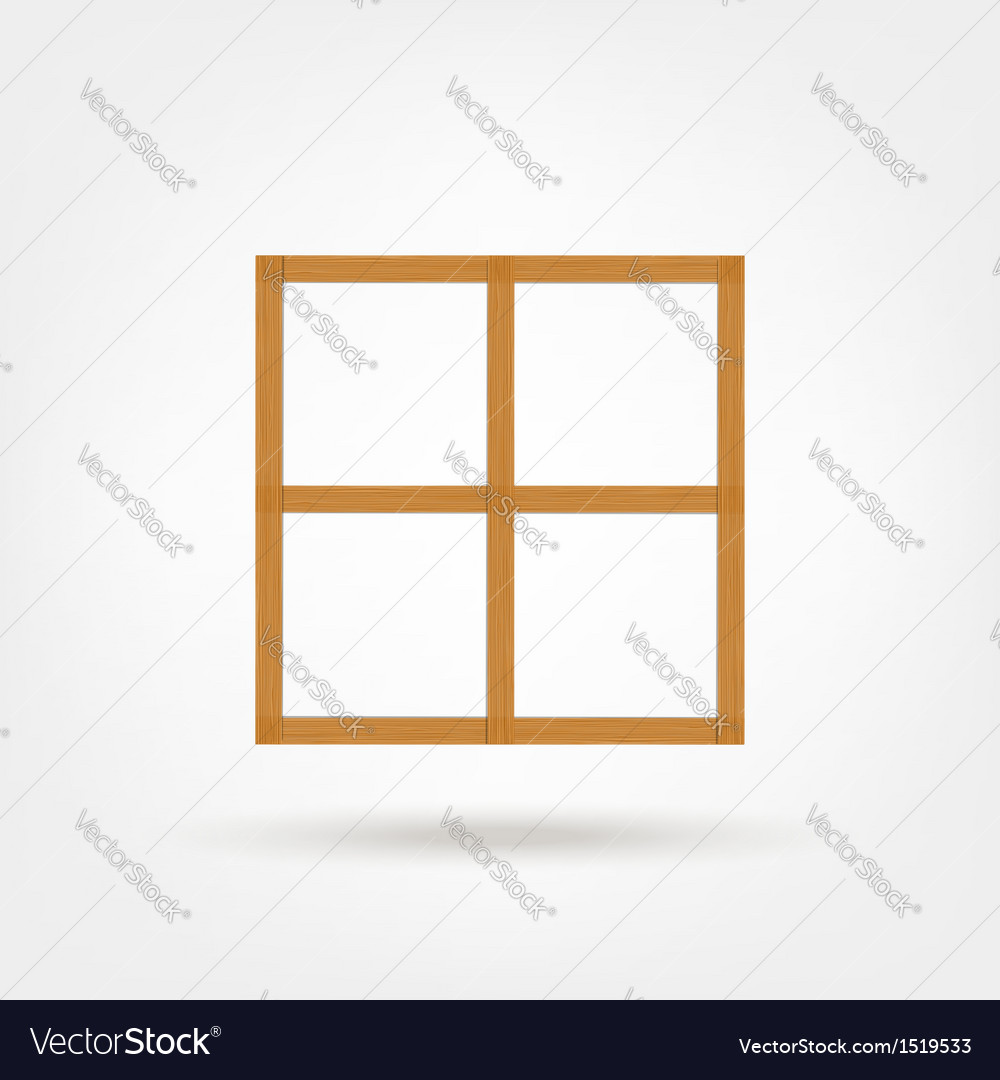 Wooden cabinet for your design vector | Price: 1 Credit (USD $1)