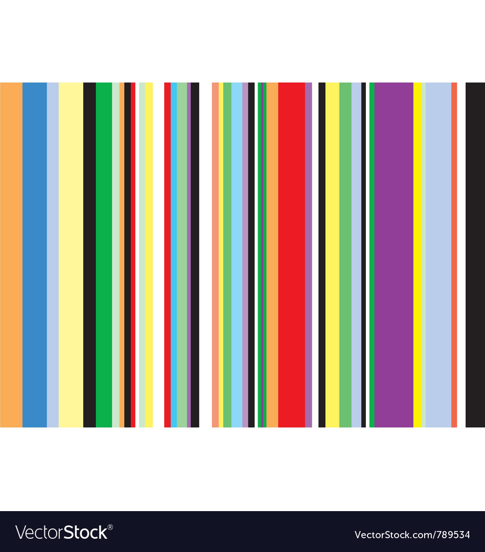 Multi coloured vertical stripes vector | Price: 1 Credit (USD $1)