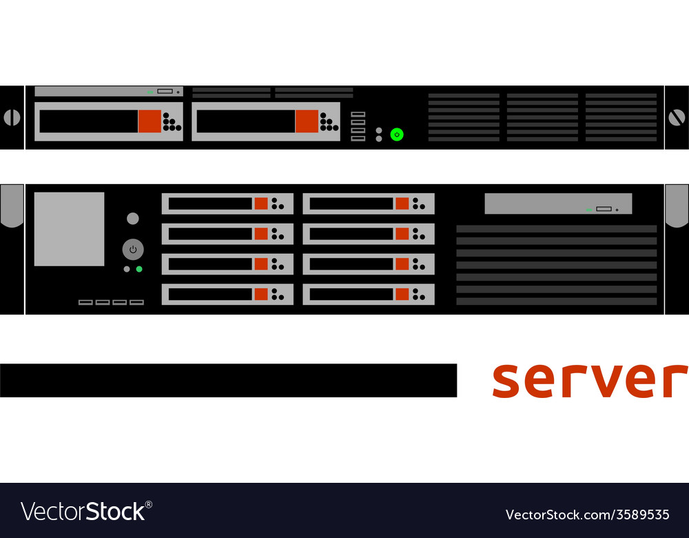 - server vector | Price: 1 Credit (USD $1)