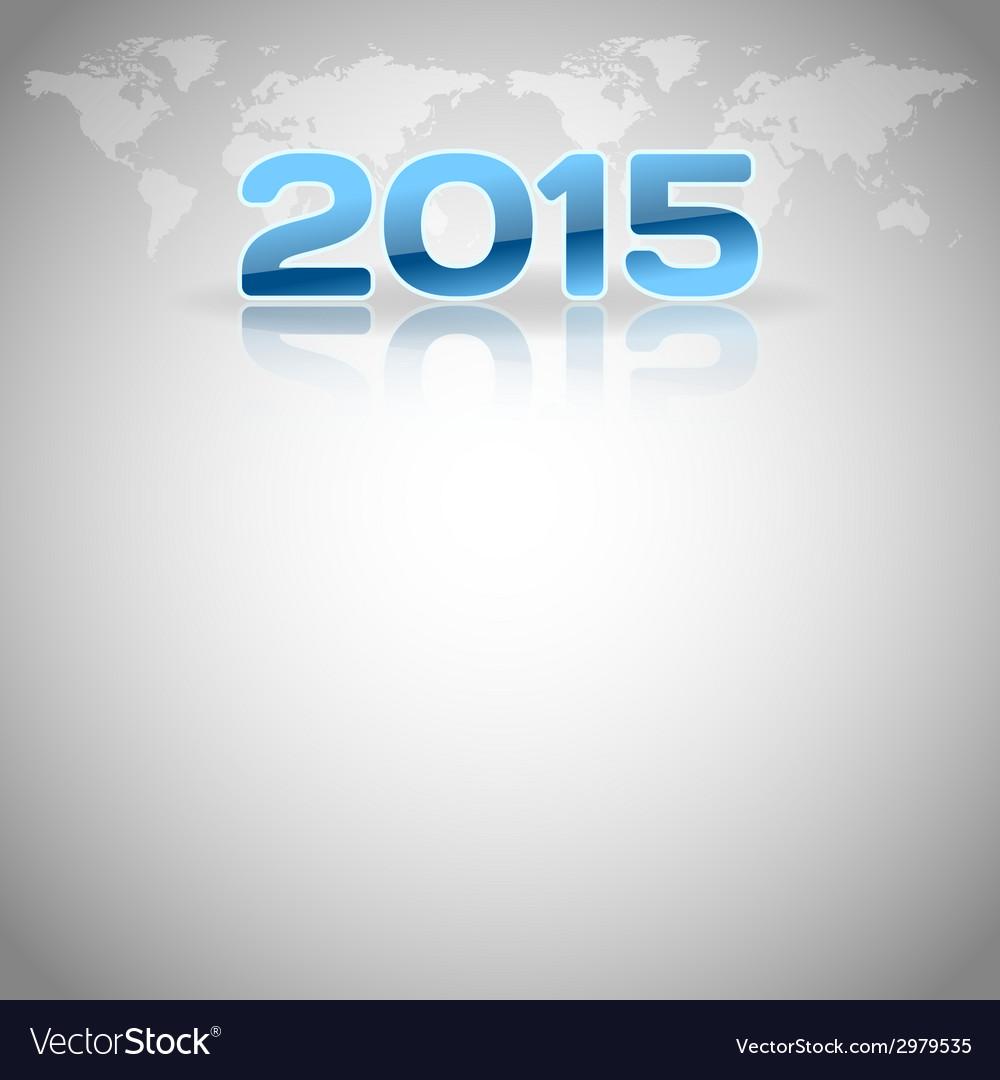2015 football mirror blue vector | Price: 1 Credit (USD $1)