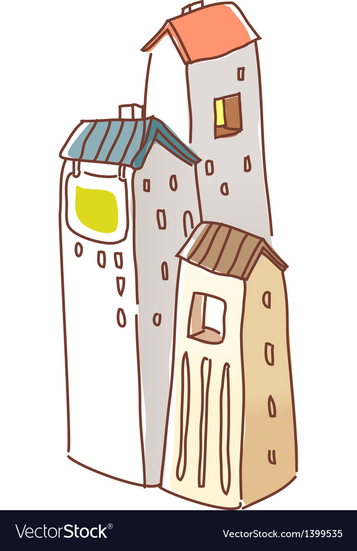 A building stand on the city vector   Price: 1 Credit (USD $1)