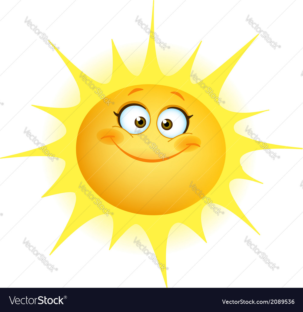 Cute sun vector | Price: 1 Credit (USD $1)