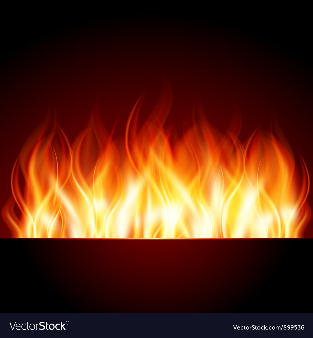 Flame burn background vector | Price: 1 Credit (USD $1)