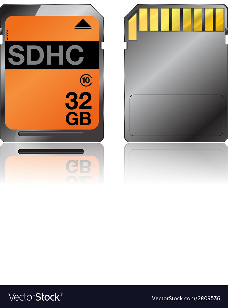 Sdhc vector | Price: 1 Credit (USD $1)