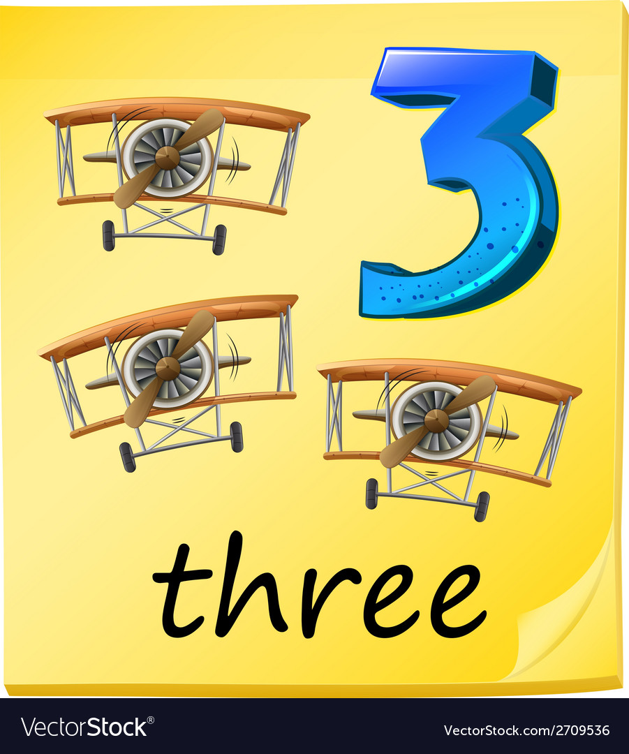 Three planes vector | Price: 1 Credit (USD $1)
