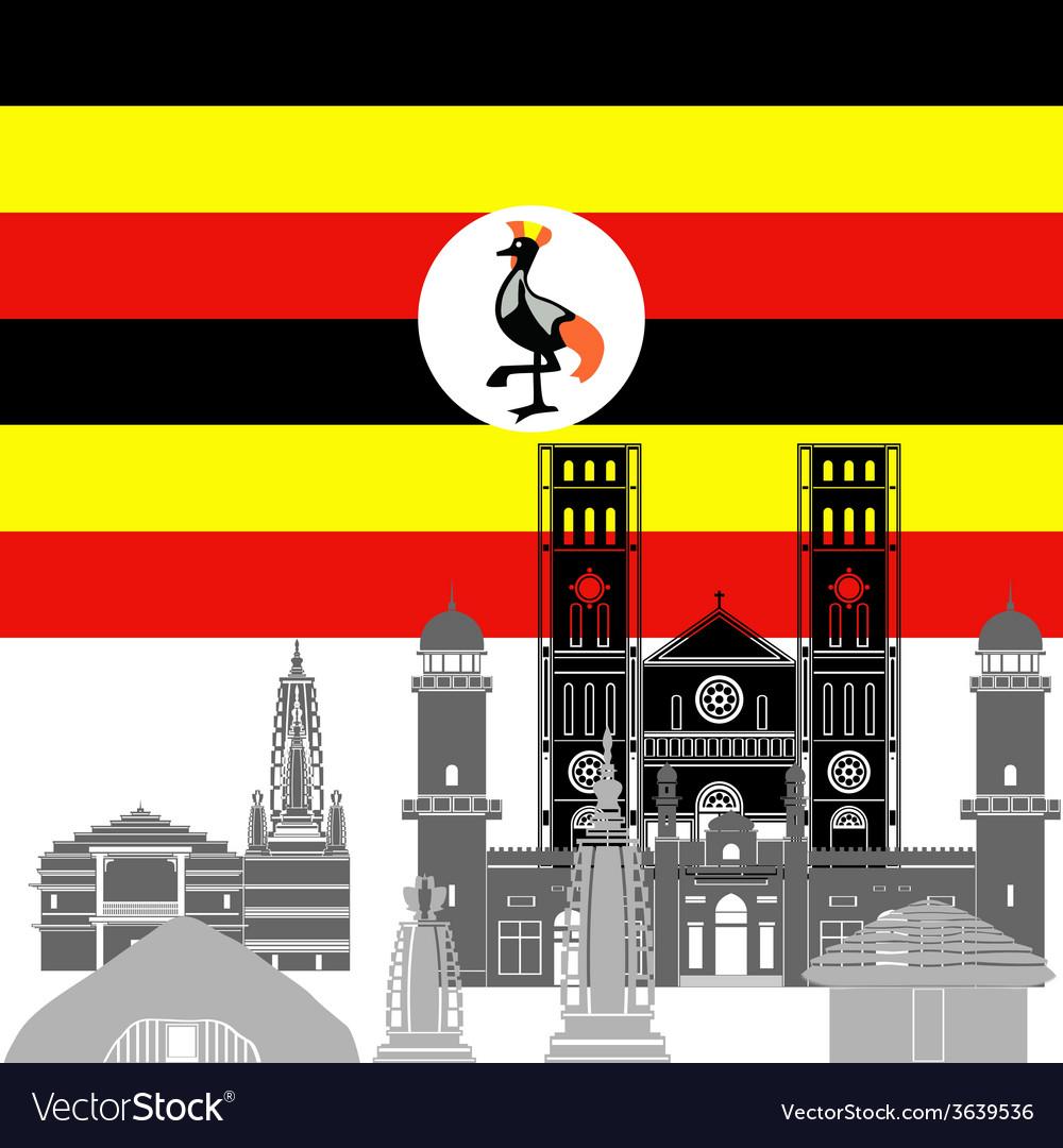 Uganda vector   Price: 1 Credit (USD $1)