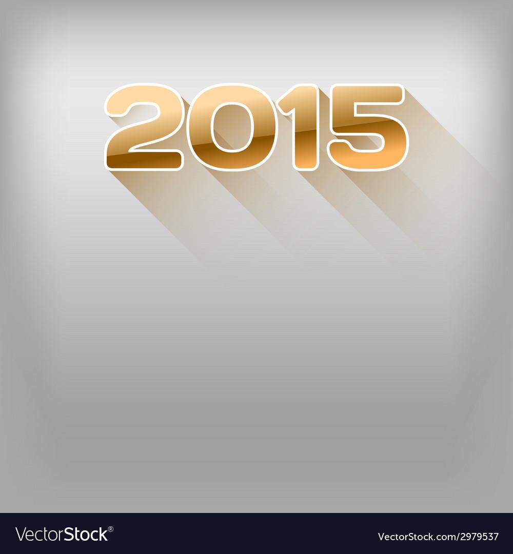 2015 long shadow orange vector | Price: 1 Credit (USD $1)