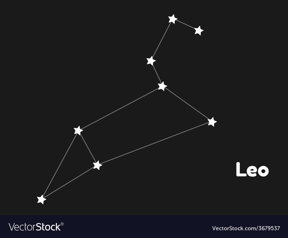 Constellation leo vector | Price: 1 Credit (USD $1)