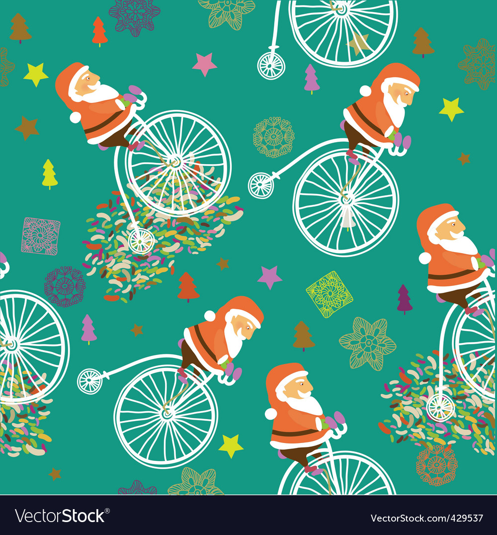 Santa claus background vector | Price: 1 Credit (USD $1)