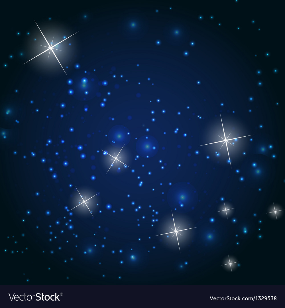 Star sky background vector | Price: 1 Credit (USD $1)
