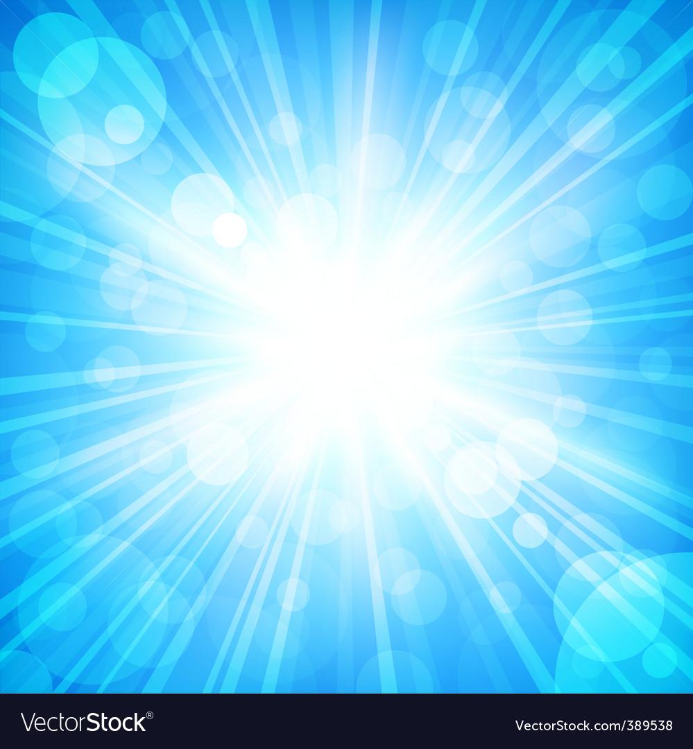 Sun sparkled vector | Price: 1 Credit (USD $1)
