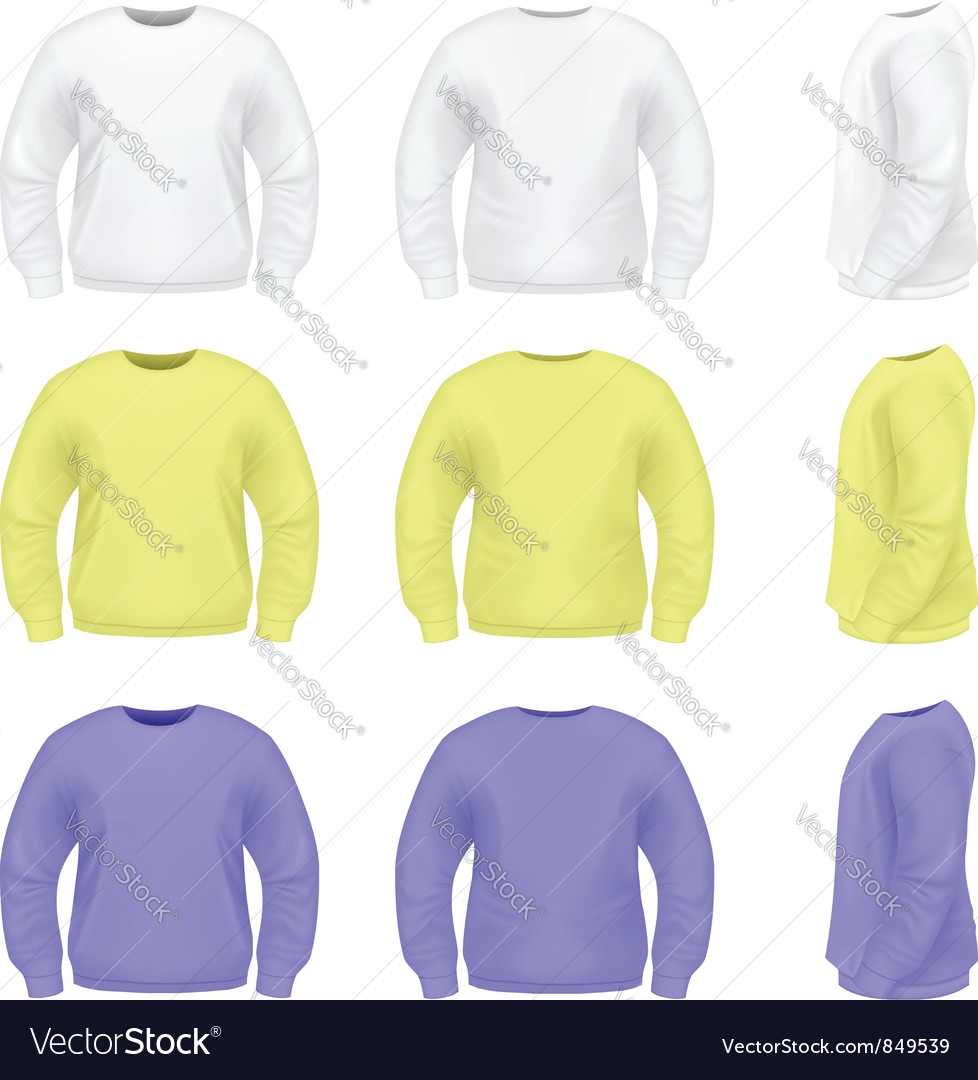 Mens sweater vector | Price: 1 Credit (USD $1)