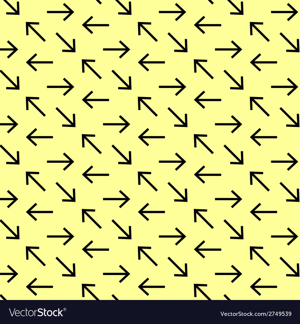 Seamless abstract pattern with arrows vector | Price: 1 Credit (USD $1)