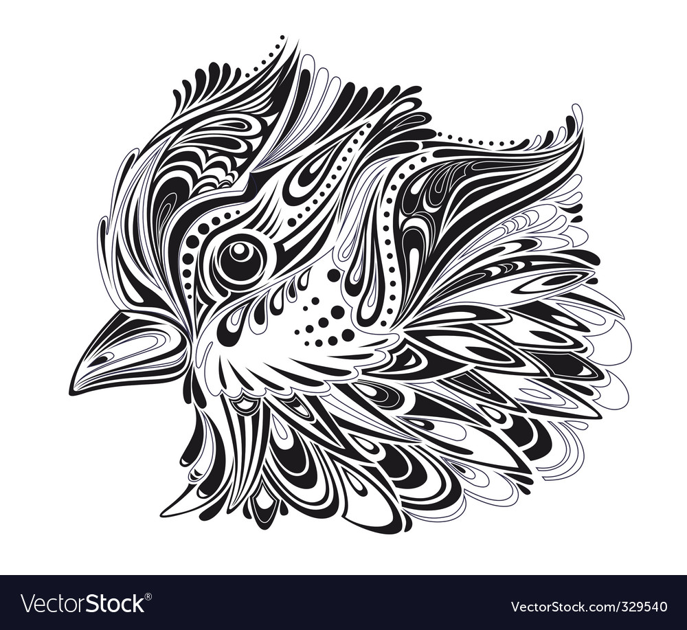 Abstract bird vector | Price: 1 Credit (USD $1)