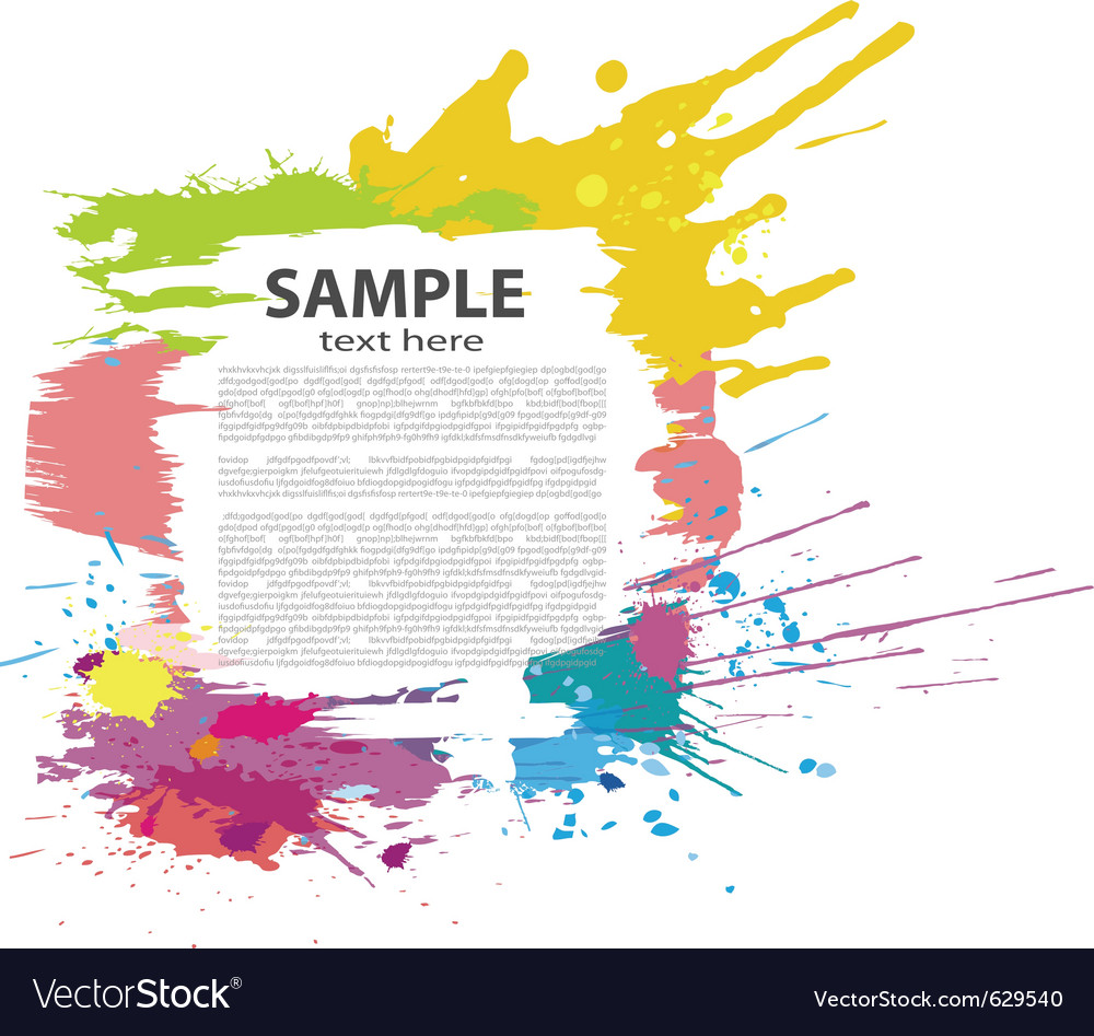 Colorful grunge banner vector | Price: 1 Credit (USD $1)