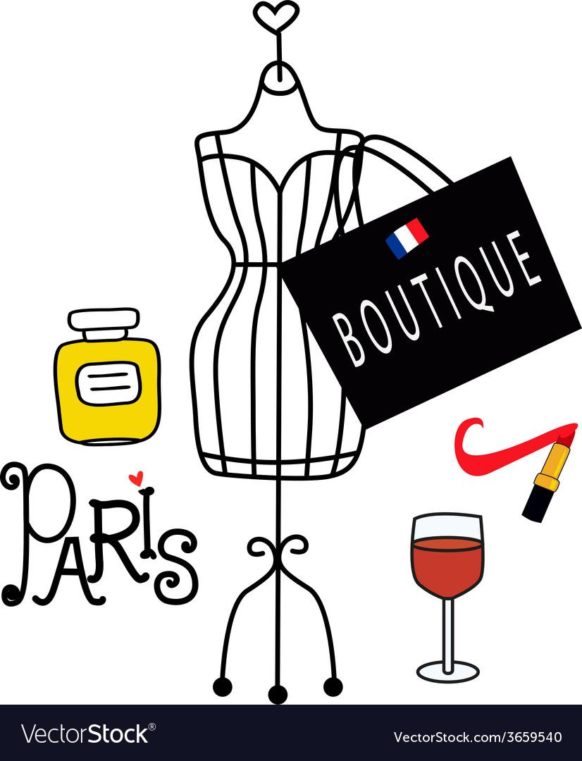 Fashionable paris vector   Price: 1 Credit (USD $1)