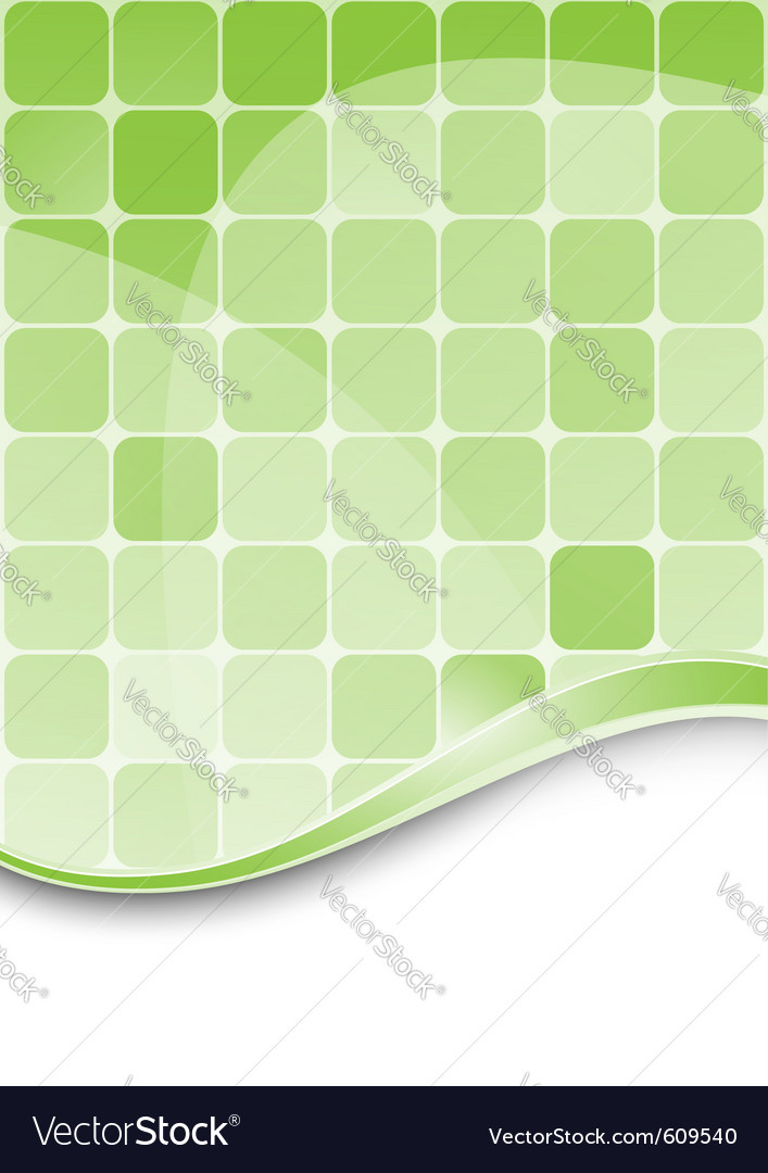 Green abstract background template vector | Price: 1 Credit (USD $1)