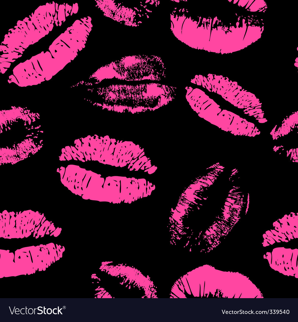 Lipstick pattern vector | Price: 1 Credit (USD $1)