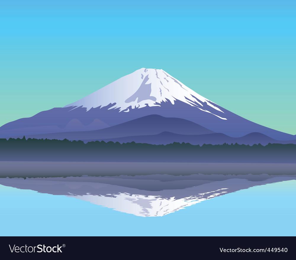 Mt fuji vector | Price: 1 Credit (USD $1)