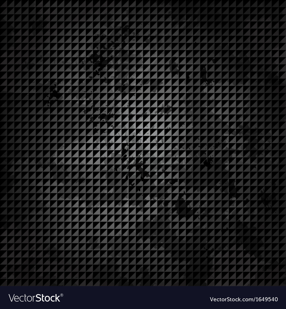 Old metal background with carbon texture vector   Price: 1 Credit (USD $1)