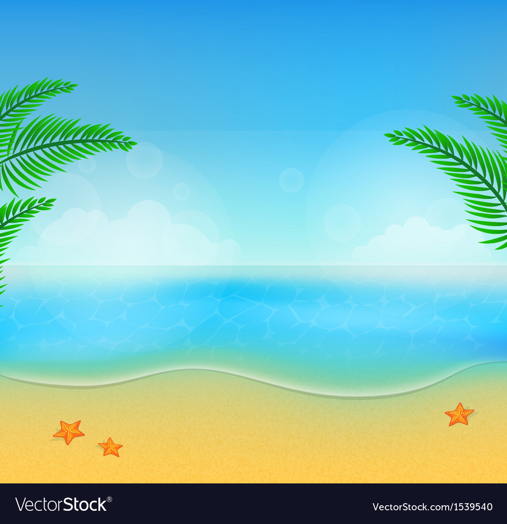 Summer beach28 vector | Price: 1 Credit (USD $1)