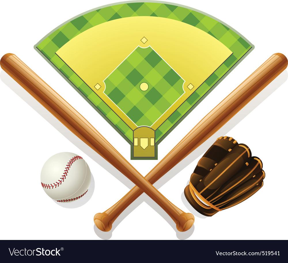Baseball vector | Price: 3 Credit (USD $3)