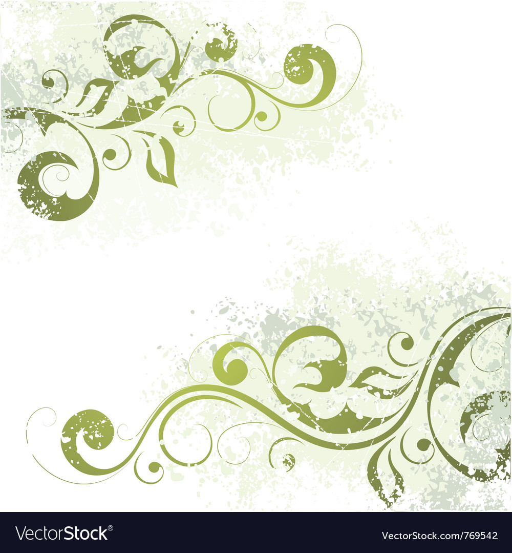 Artistic floral motif vector | Price: 1 Credit (USD $1)