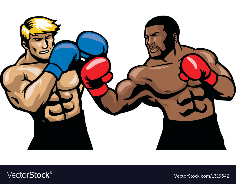 Boxing fight vector | Price: 1 Credit (USD $1)