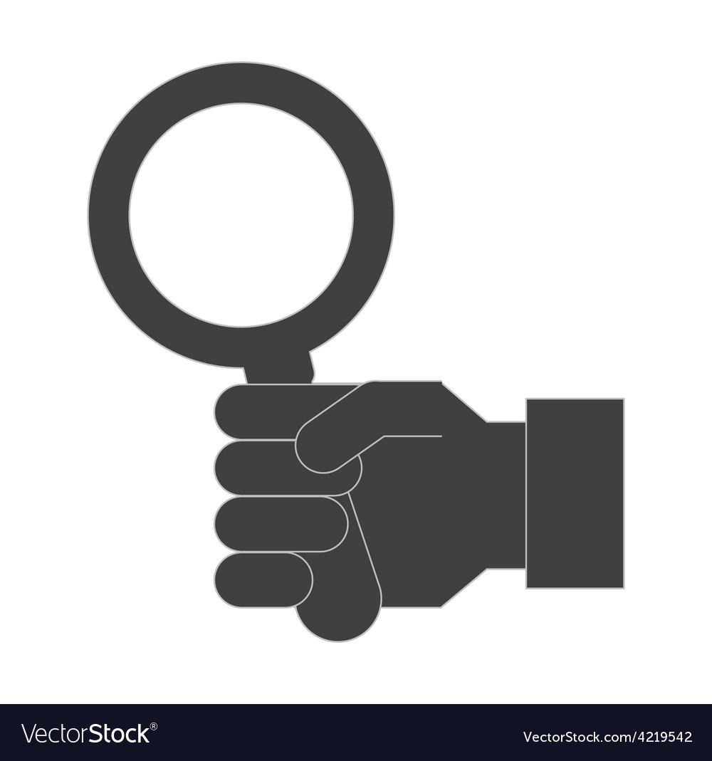 Search icon vector | Price: 1 Credit (USD $1)