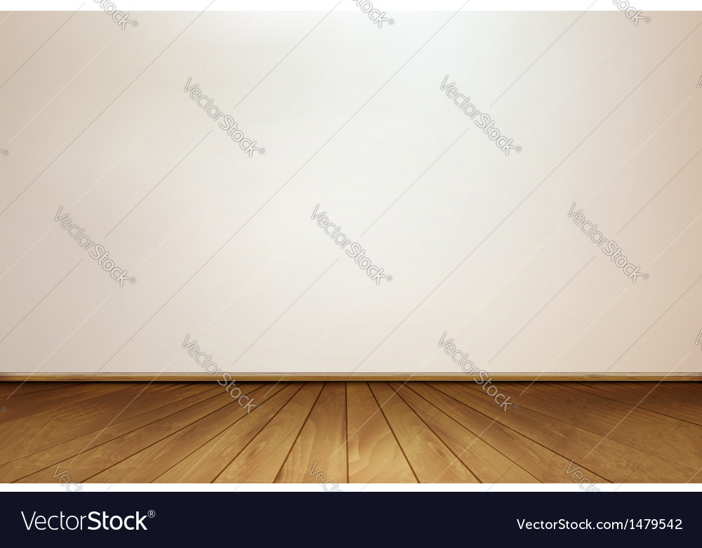Wall and a wooden floor vector | Price: 1 Credit (USD $1)