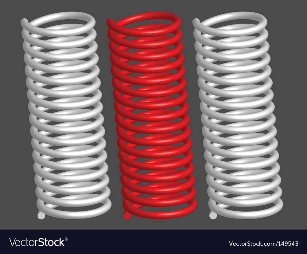 Springs vector | Price: 1 Credit (USD $1)