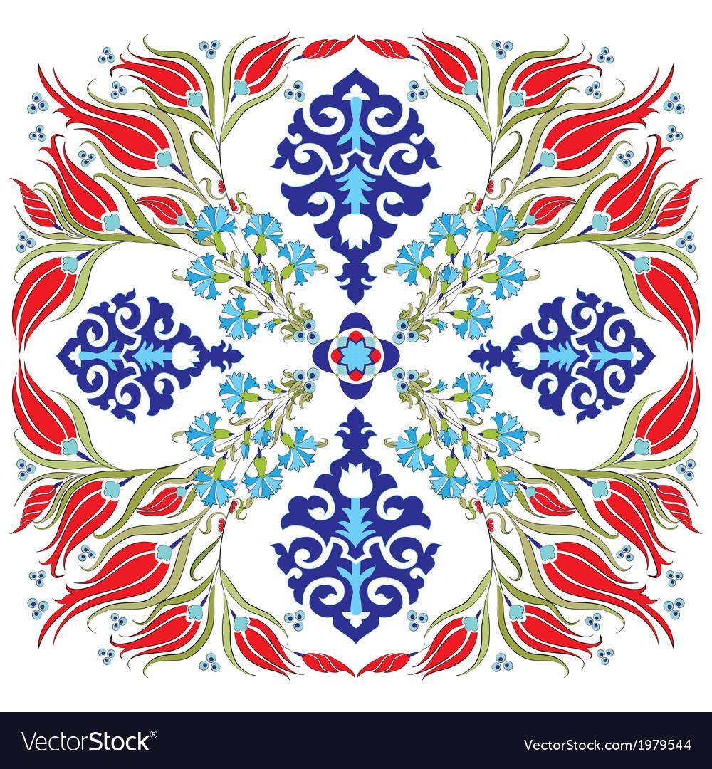 Oriental ottoman design twenty nine vector | Price: 1 Credit (USD $1)