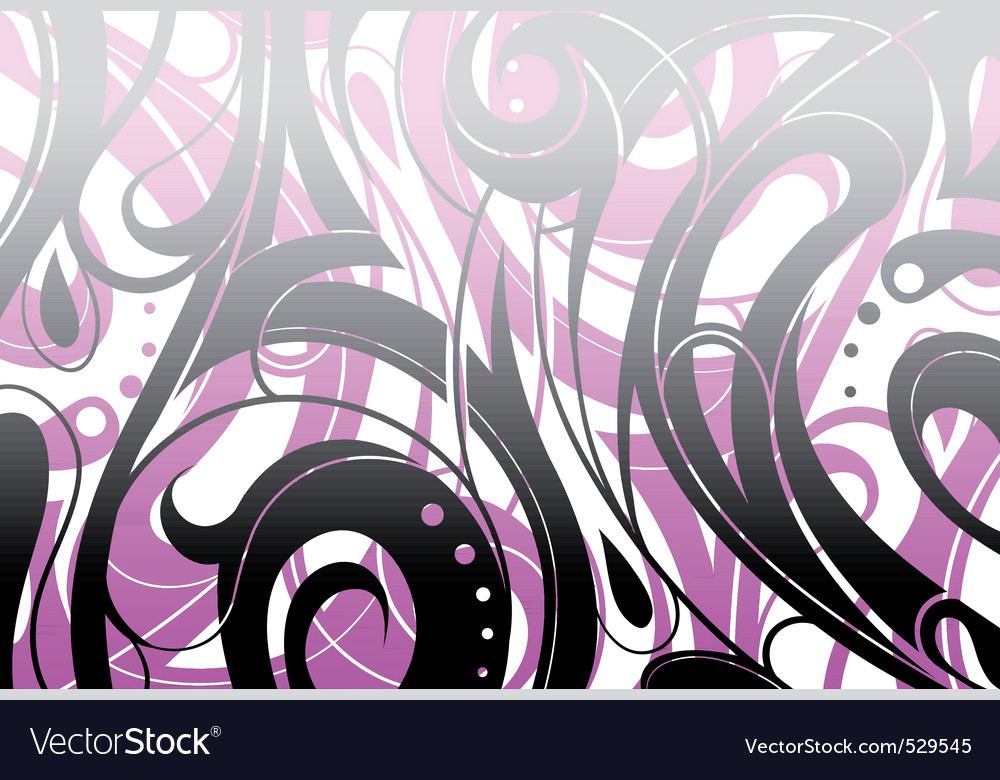 Flourish background vector | Price: 1 Credit (USD $1)