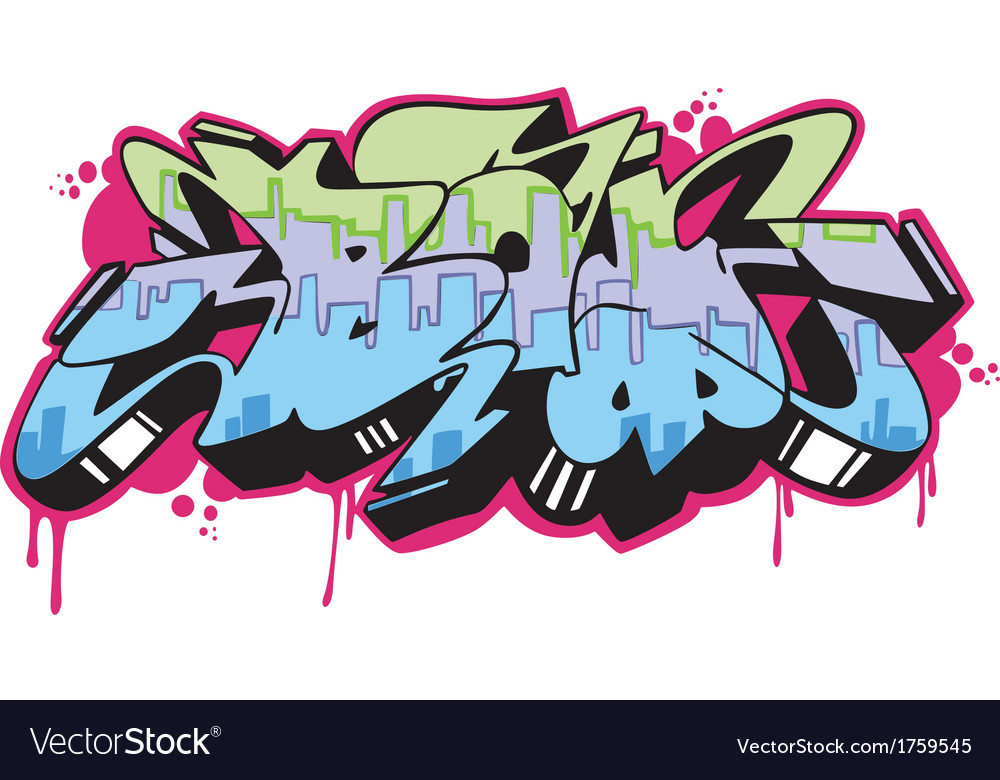 Graffito - boy vector | Price: 1 Credit (USD $1)