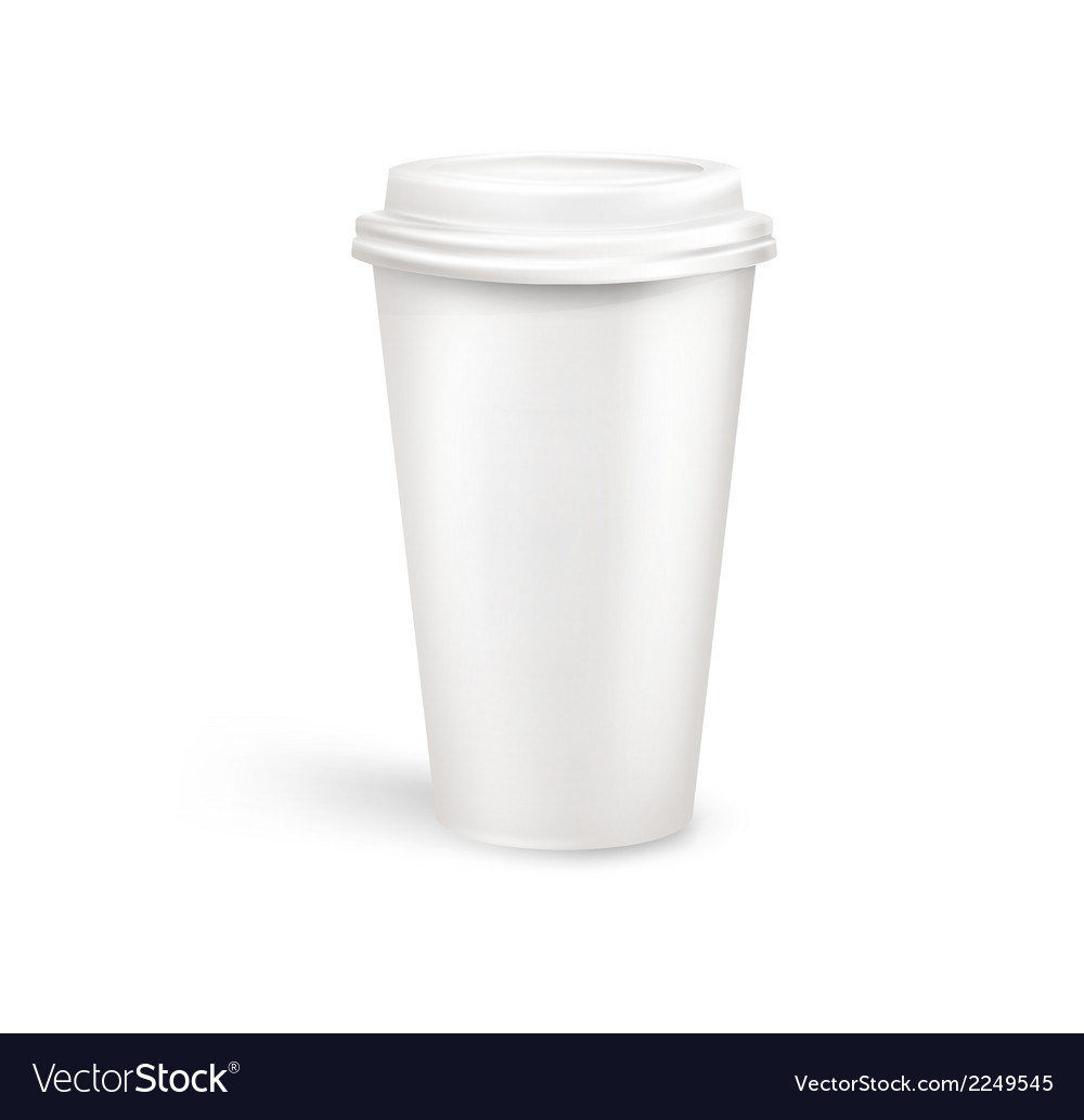 Plastic coffee container vector | Price: 1 Credit (USD $1)