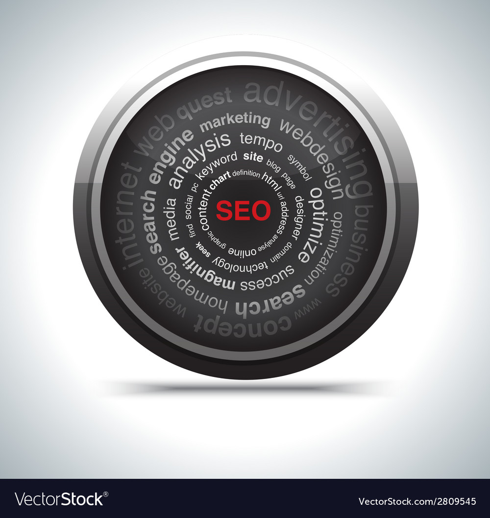 Seo icon vector | Price: 1 Credit (USD $1)