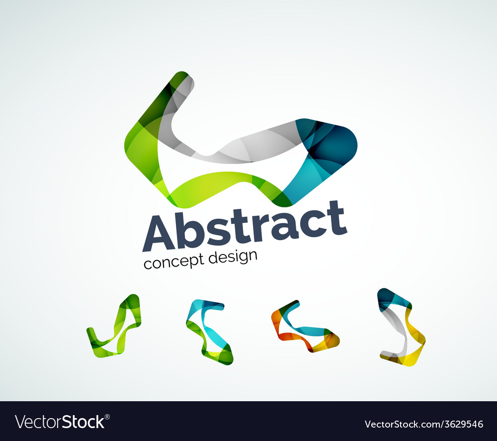 Abstract shape logo design vector   Price: 1 Credit (USD $1)