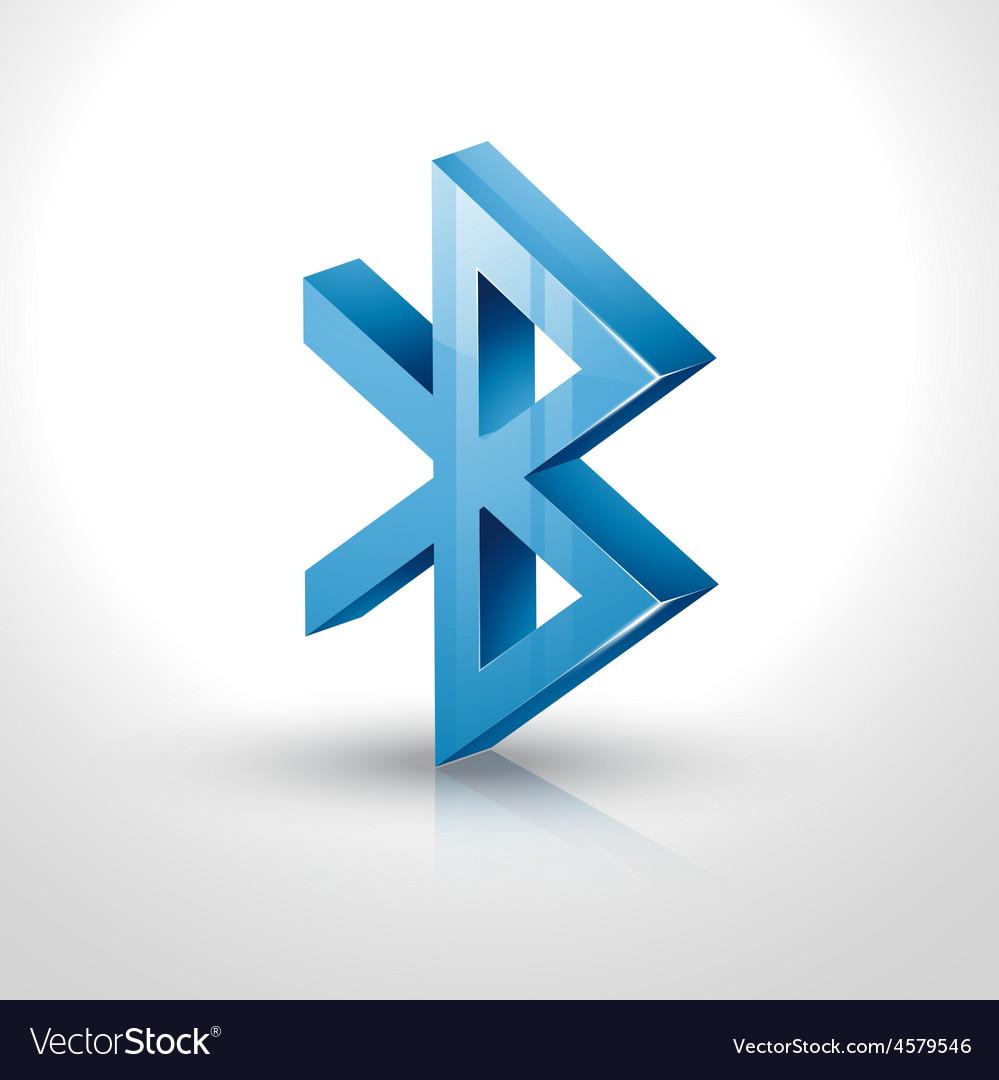 Bluetooth icon vector | Price: 1 Credit (USD $1)