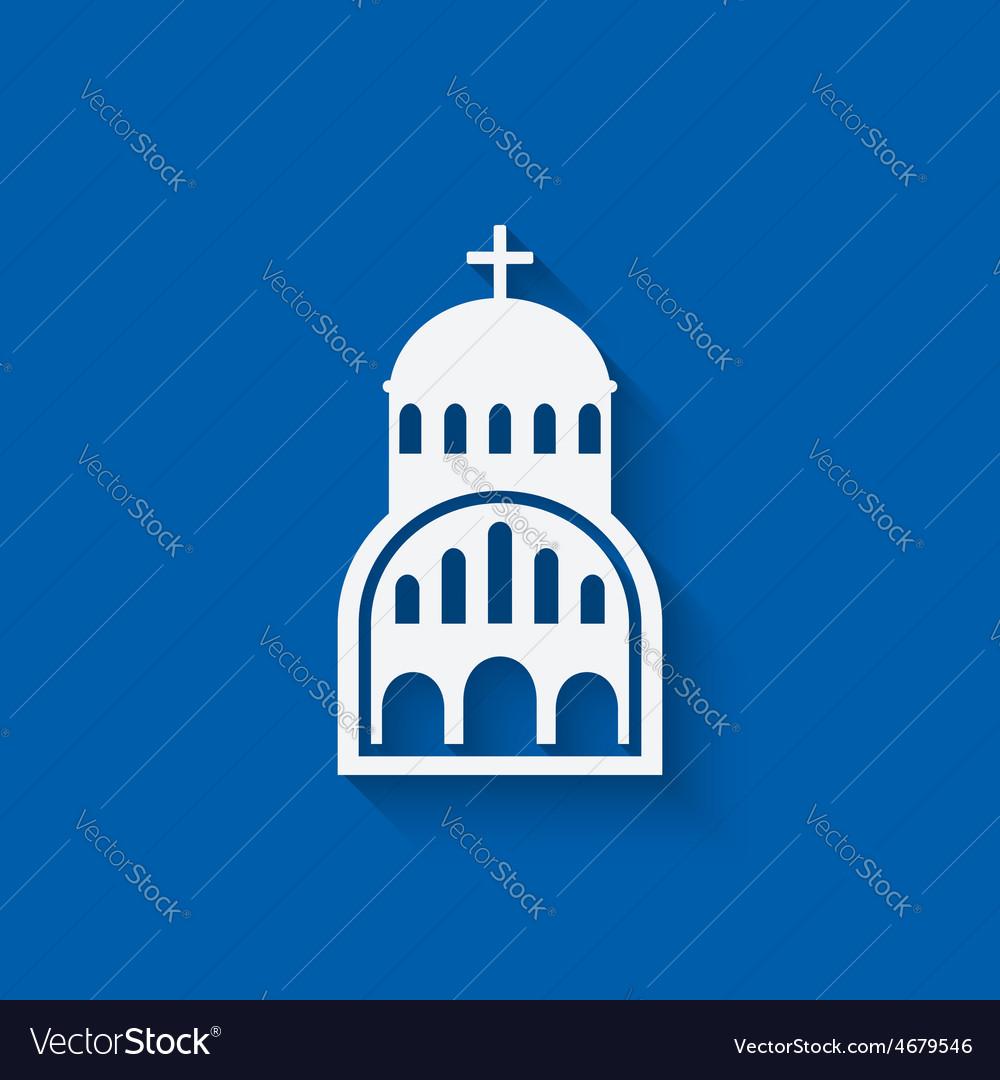 Greek church symbol vector | Price: 1 Credit (USD $1)