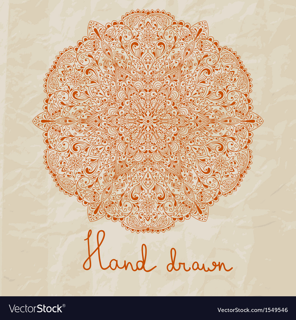 Hand drawn flower vector | Price: 1 Credit (USD $1)