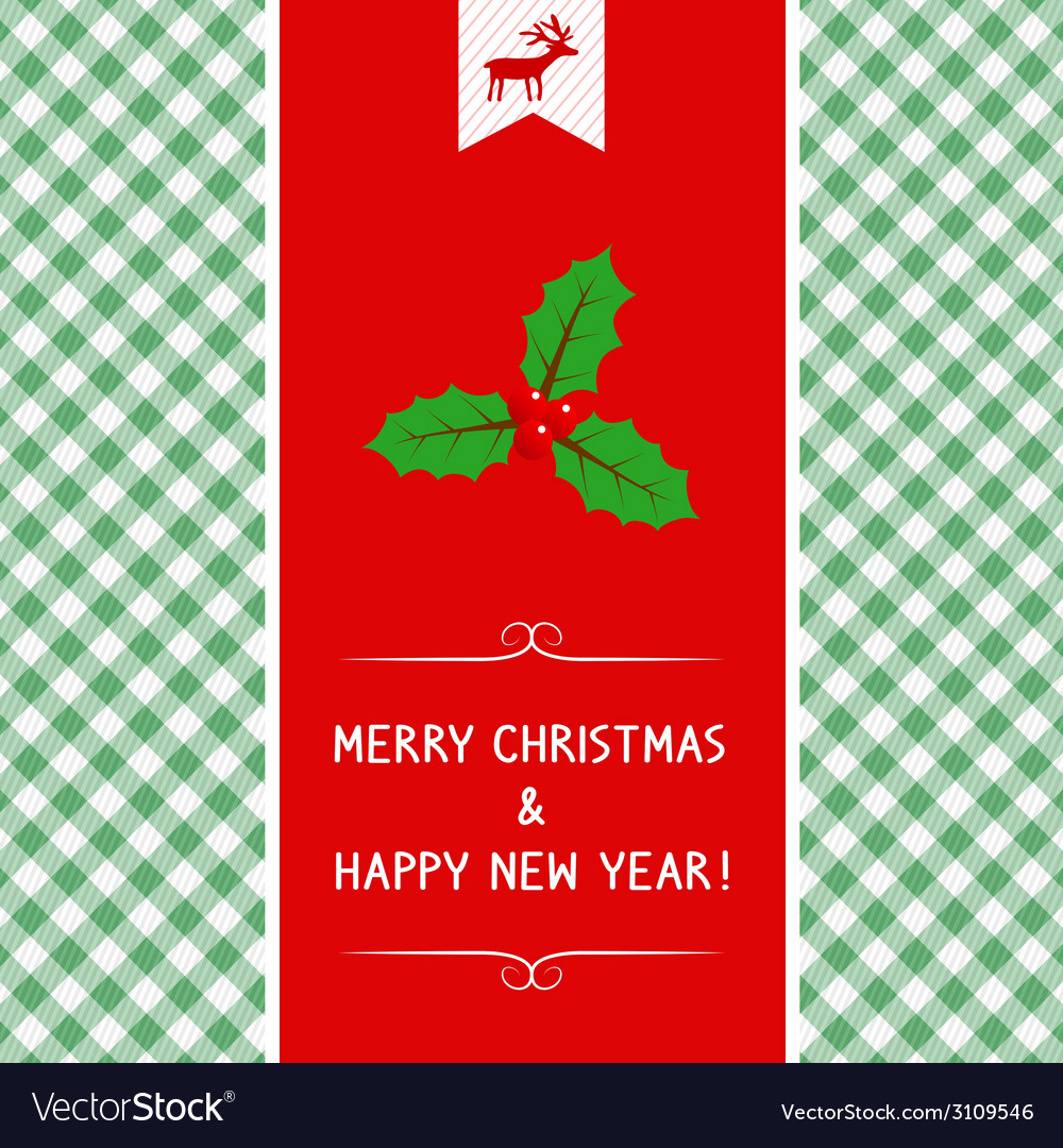 Mc and hny greeting card6 vector | Price: 1 Credit (USD $1)