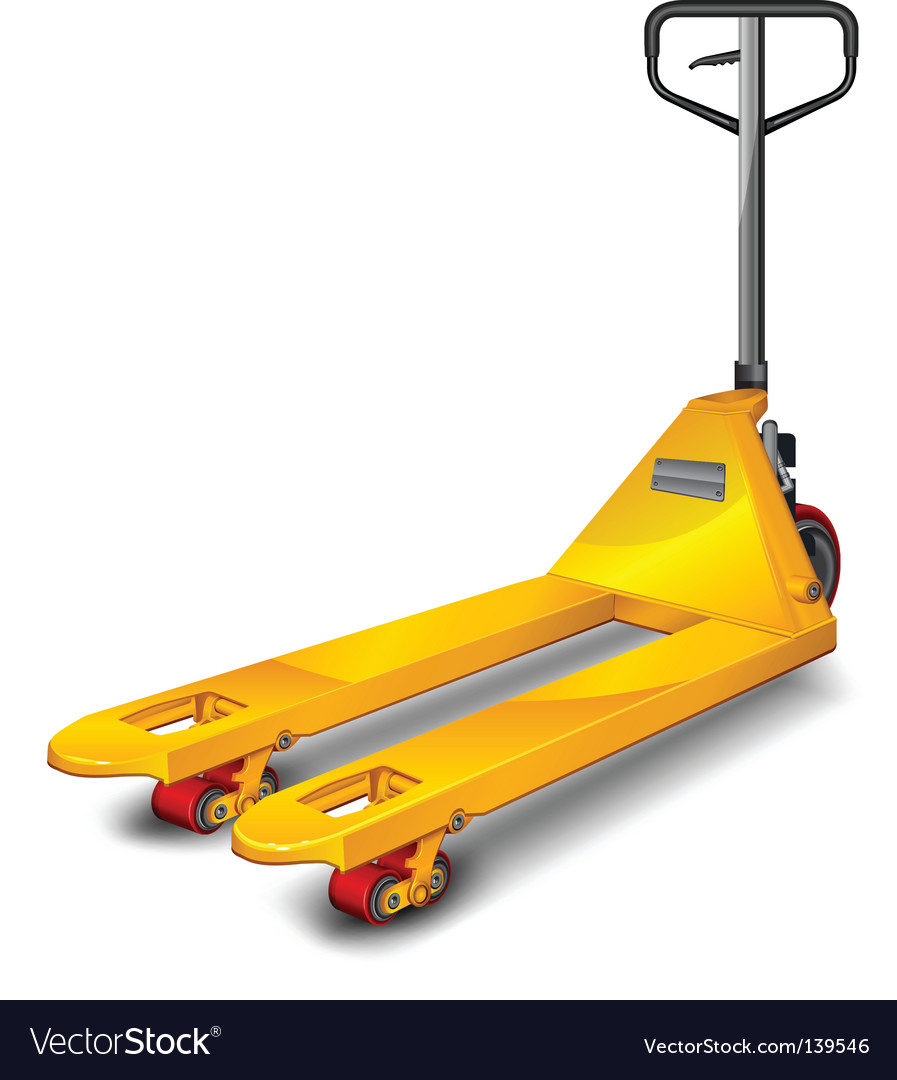 Pallet truck vector | Price: 1 Credit (USD $1)