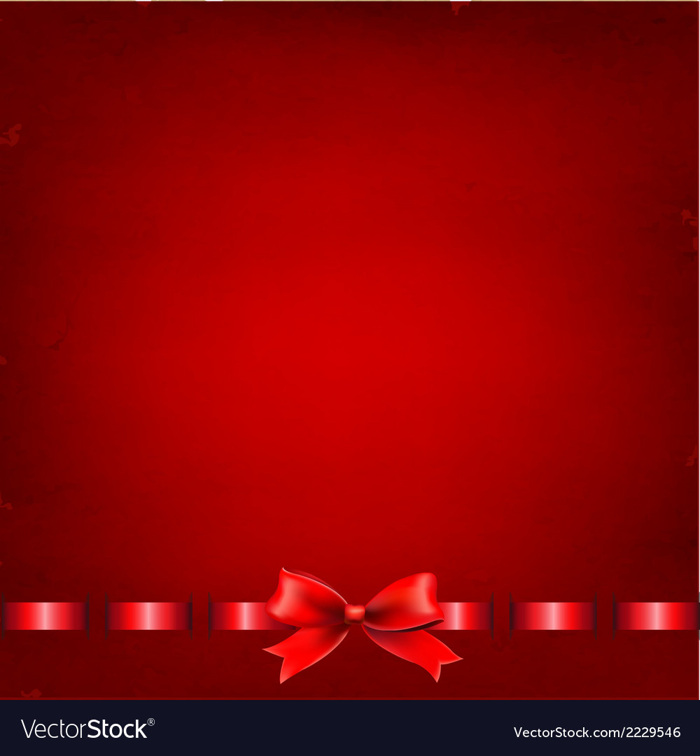 Red background with red ribbon vector | Price: 1 Credit (USD $1)