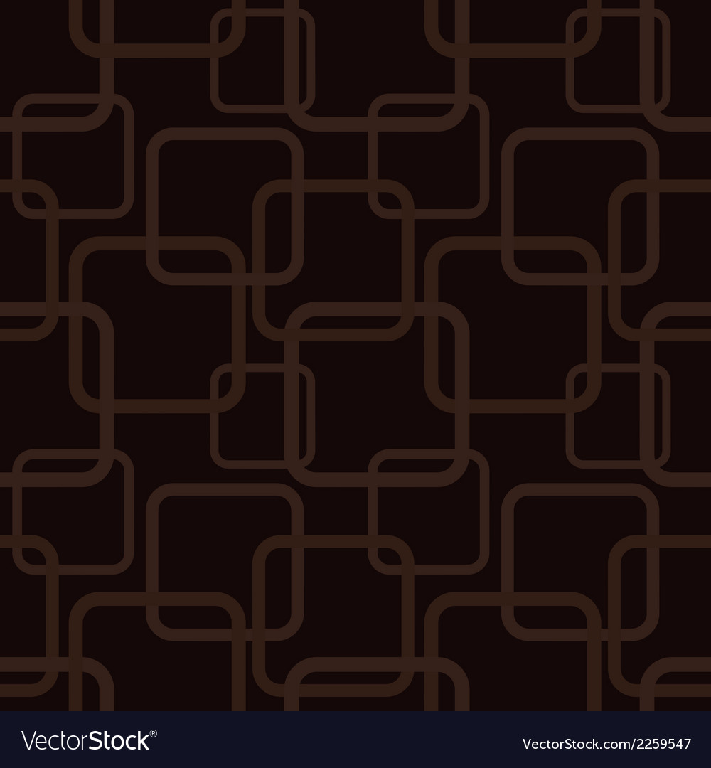 Brown seamless pattern with squares vector | Price: 1 Credit (USD $1)