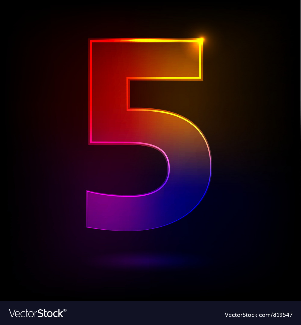 Five vector | Price: 1 Credit (USD $1)