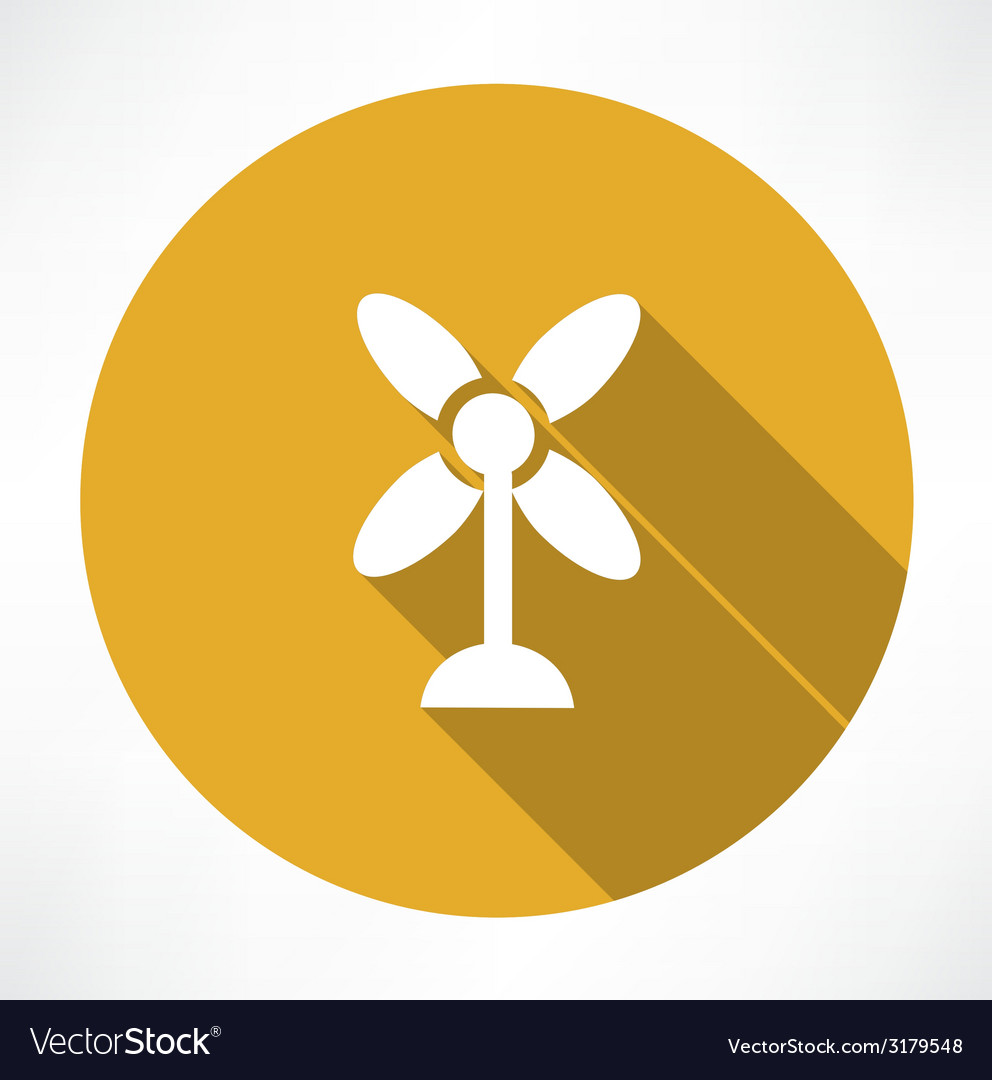 Fan icon vector | Price: 1 Credit (USD $1)