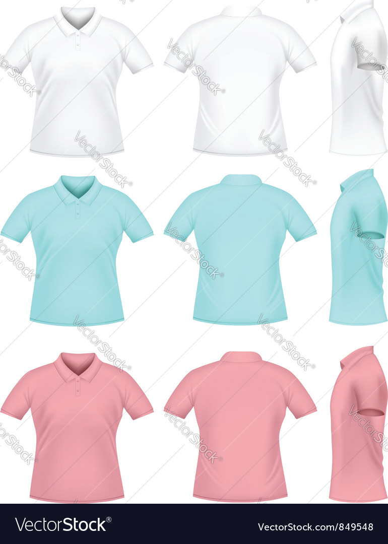 Mens polo t-shirts vector | Price: 1 Credit (USD $1)